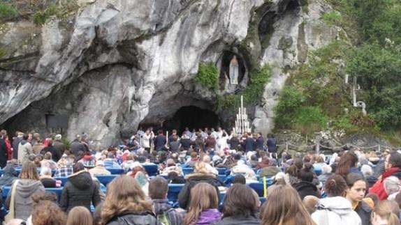 Son engagement au service des malades à Lourdes