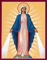 Son engagement dans la prière du chapelet à l'attention de Marie